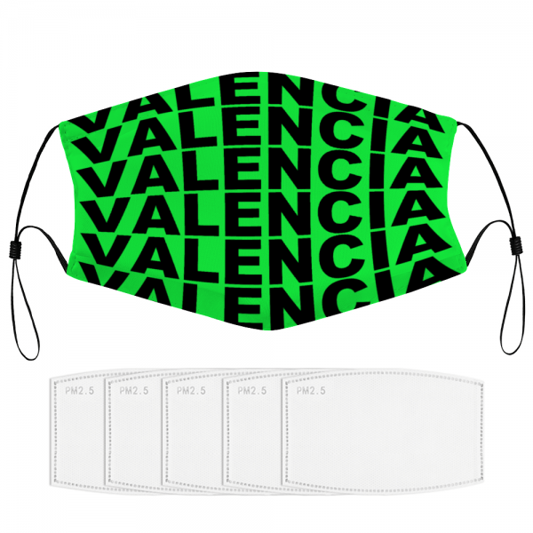 Valencia Facial Mask Neon Green
