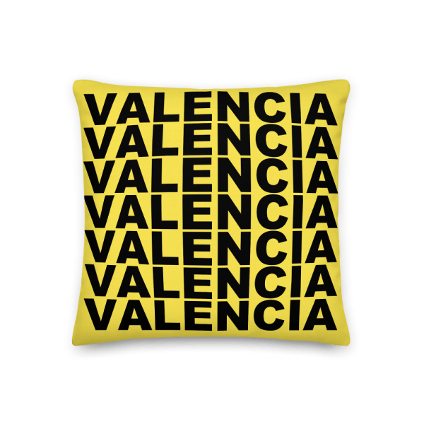 Valencia Pillow Yellow